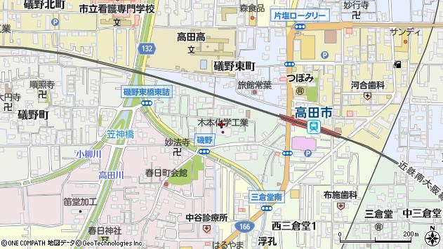 〒635-0062 奈良県大和高田市礒野南町の地図