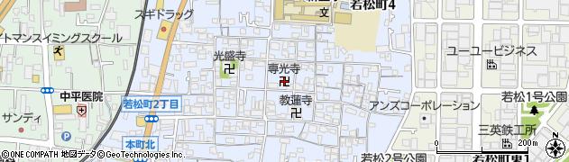 専光寺周辺の地図