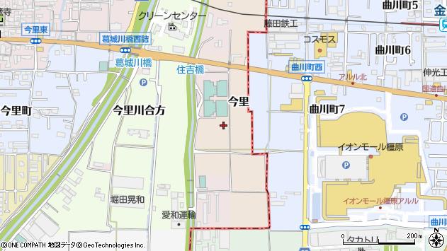 〒635-0031 奈良県大和高田市今里の地図