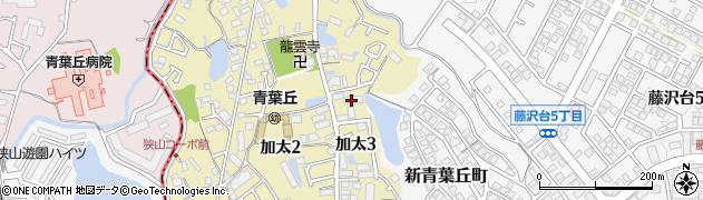 尾崎コーポ周辺の地図