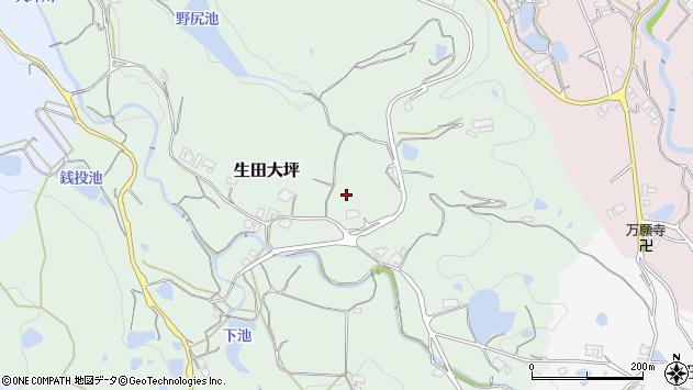 〒656-1603 兵庫県淡路市生田大坪の地図