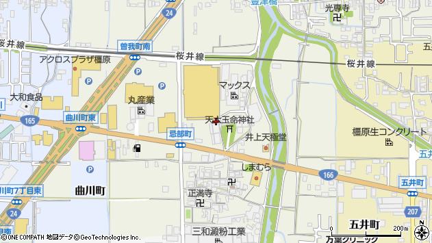 〒634-0833 奈良県橿原市忌部町の地図