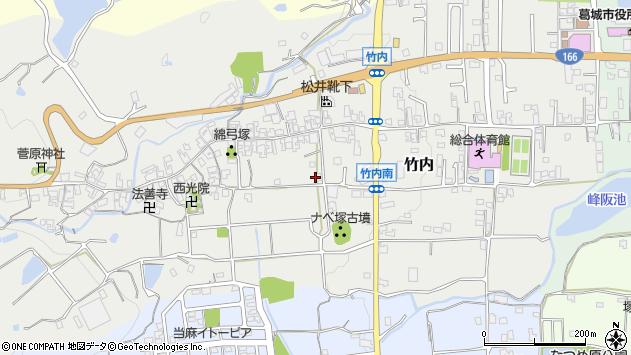 〒639-2155 奈良県葛城市竹内の地図