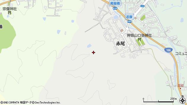 〒633-0006 奈良県桜井市赤尾の地図