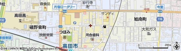 奈良県大和高田市片塩町周辺の地図