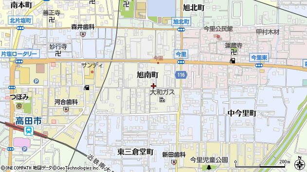 〒635-0035 奈良県大和高田市旭南町の地図