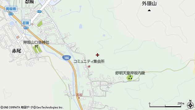 〒633-0005 奈良県桜井市忍阪の地図