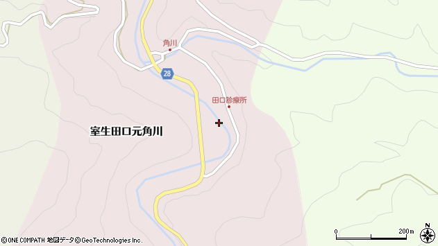 〒633-0423 奈良県宇陀市室生田口元角川の地図