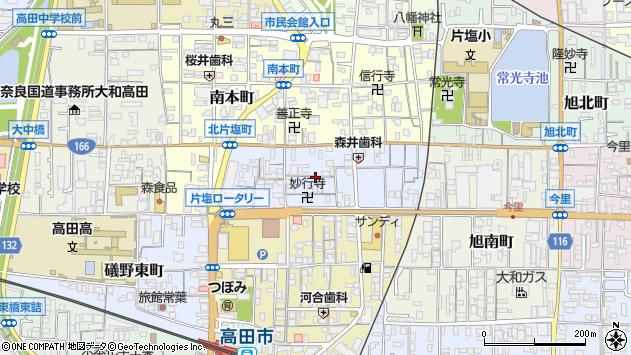 〒635-0084 奈良県大和高田市北片塩町の地図