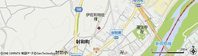 三重県松阪市射和町周辺の地図