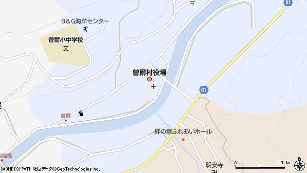 〒633-1200 奈良県宇陀郡曽爾村(以下に掲載がない場合)の地図