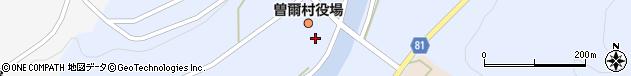 奈良県宇陀郡曽爾村周辺の地図