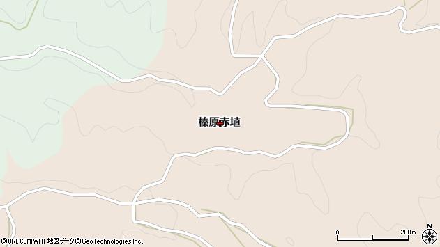 〒633-0213 奈良県宇陀市榛原赤埴の地図