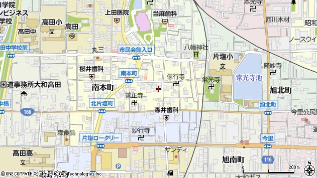 〒635-0083 奈良県大和高田市永和町の地図