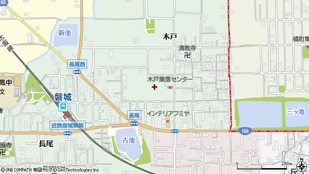 〒639-2161 奈良県葛城市木戸の地図