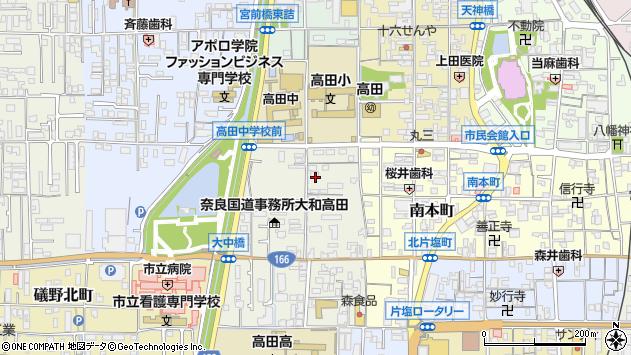 〒635-0092 奈良県大和高田市大中南町の地図