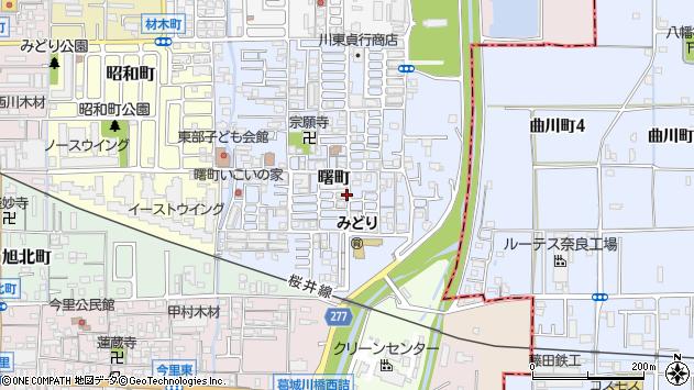 〒635-0012 奈良県大和高田市曙町の地図