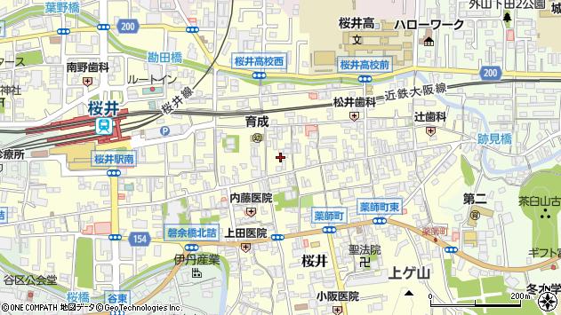 〒633-0091 奈良県桜井市桜井の地図