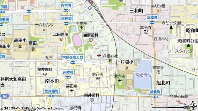 〒635-0082 奈良県大和高田市本郷町の地図