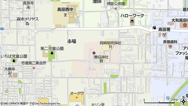 〒635-0073 奈良県大和高田市岡崎の地図