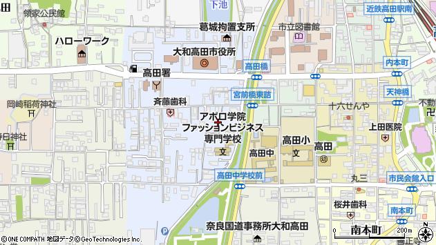 〒635-0095 奈良県大和高田市大中の地図