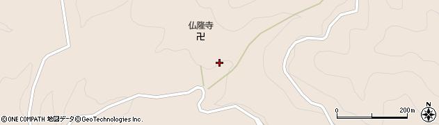 仏隆寺周辺の地図