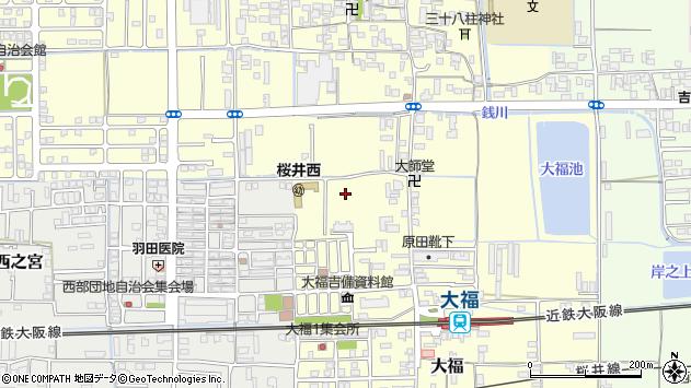〒633-0067 奈良県桜井市大福の地図