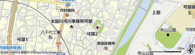 品窮寺周辺の地図