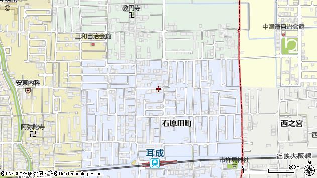 〒634-0014 奈良県橿原市石原田町の地図