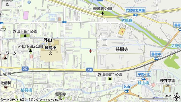 〒633-0007 奈良県桜井市外山の地図