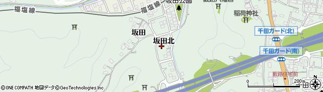 広島県福山市千田町(坂田北)周辺の地図