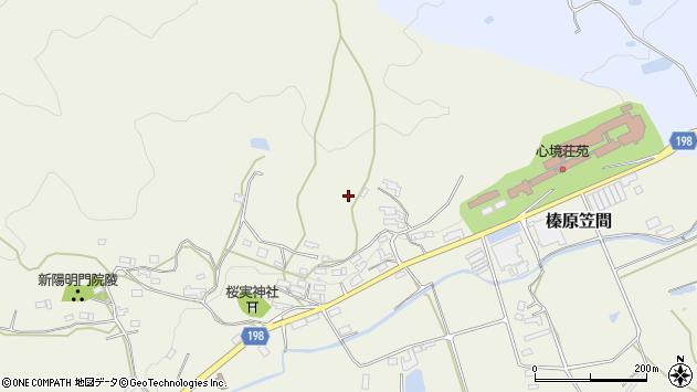 〒633-0245 奈良県宇陀市榛原笠間の地図