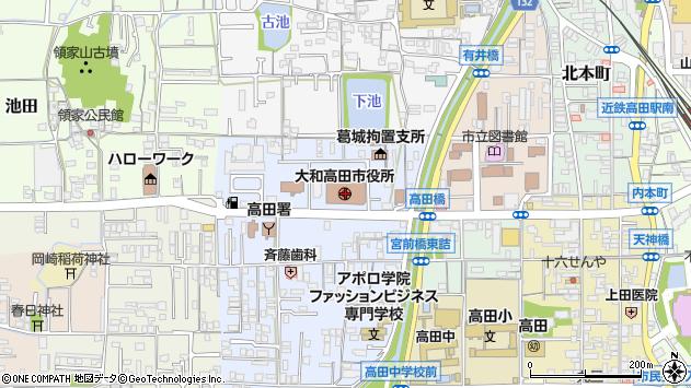 〒635-0000 奈良県北葛城郡広陵町(以下に掲載がない場合)の地図