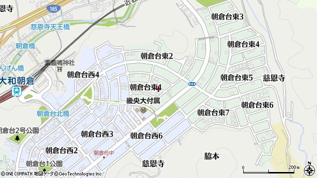 〒633-0003 奈良県桜井市朝倉台東の地図