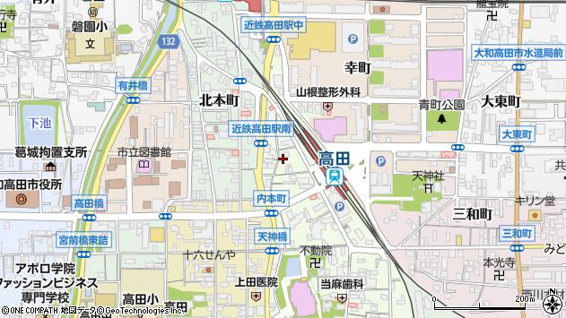 〒635-0081 奈良県大和高田市高砂町の地図