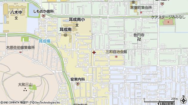 〒634-0071 奈良県橿原市山之坊町の地図