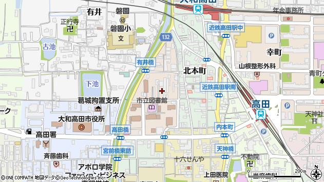 〒635-0096 奈良県大和高田市西町の地図
