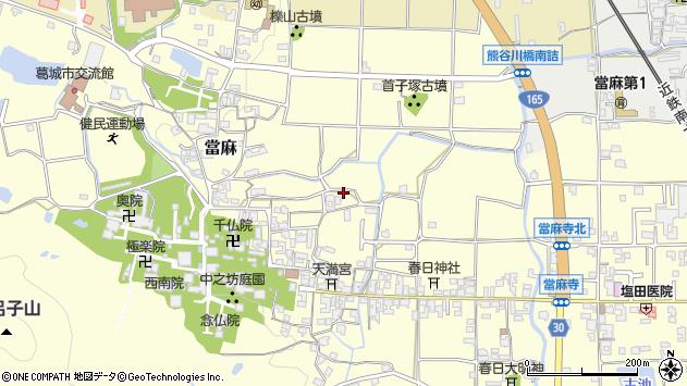 〒639-0276 奈良県葛城市當麻の地図