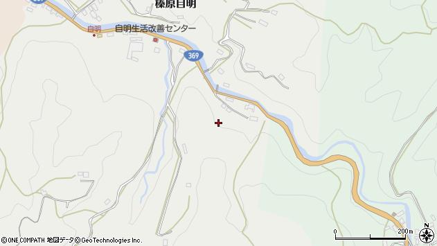 〒633-0217 奈良県宇陀市榛原自明の地図