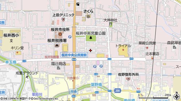 〒633-0062 奈良県桜井市粟殿の地図