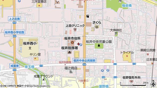 〒633-0000 奈良県桜井市(以下に掲載がない場合)の地図