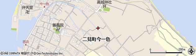 三重県伊勢市二見町今一色周辺の地図