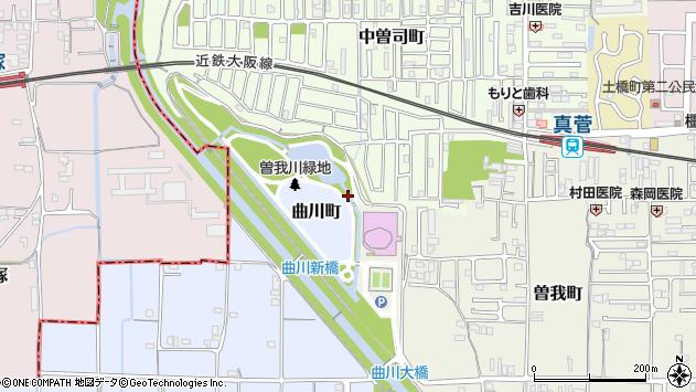 〒634-0837 奈良県橿原市曲川町の地図
