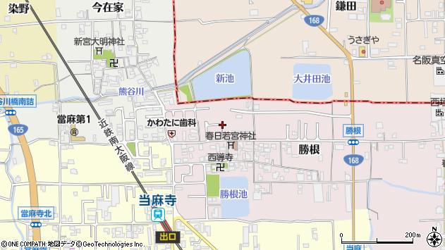 〒639-0275 奈良県葛城市勝根の地図