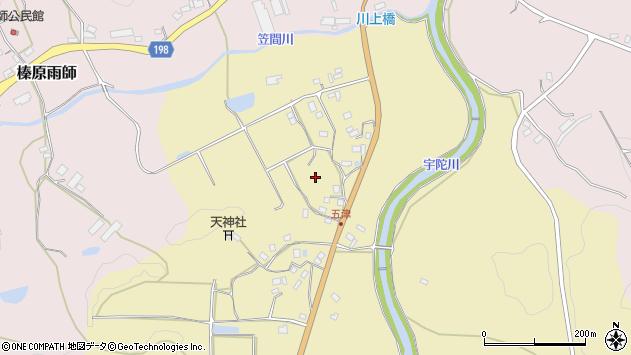 〒633-2101 奈良県宇陀市大宇陀五津の地図