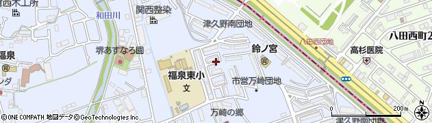 府営草部住宅周辺の地図