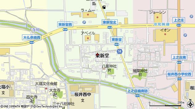 〒633-0068 奈良県桜井市東新堂の地図