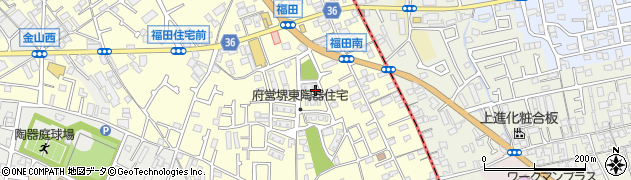 府営東陶器住宅周辺の地図