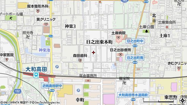 〒635-0023 奈良県大和高田市日之出東本町の地図