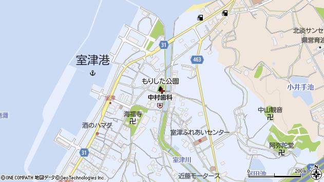 〒656-1606 兵庫県淡路市室津の地図